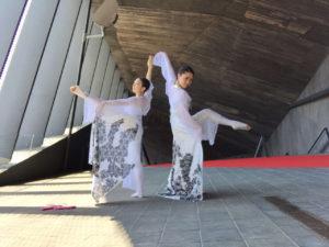 スペインバルセロナ インターナショナル ダンスフェスティバル グランプリ受賞 「雪舟」
